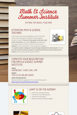 Math & Science Summer Institute