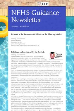NFHS Guidance Newsletter