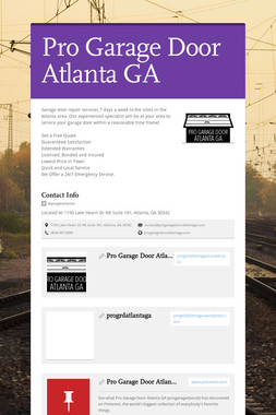Pro Garage Door Atlanta GA
