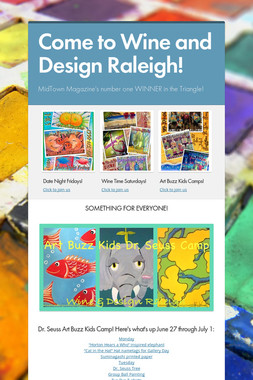Come to Wine and Design Raleigh!