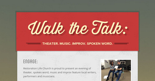 Walk the Talk: | Smore Newsletters