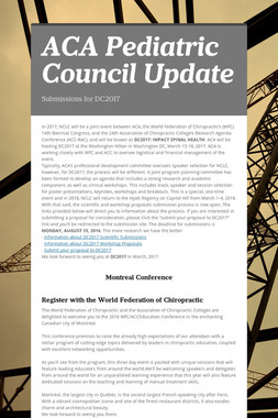 ACA Pediatric Council Update
