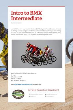 Intro to BMX Intermediate