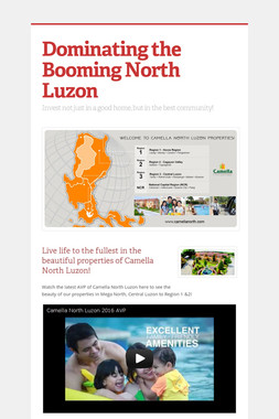 Dominating the Booming North Luzon