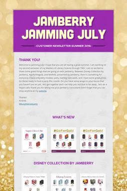 Jamberry Jamming July