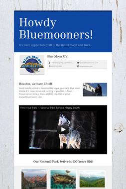 Howdy Bluemooners!