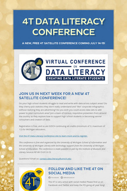 4T DATA LITERACY CONFERENCE