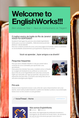 Welcome to EnglishWorks!!!