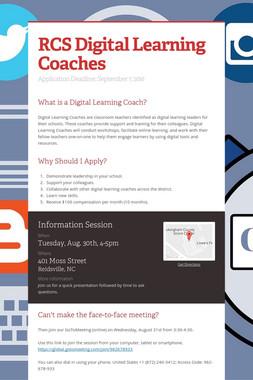 RCS Digital Learning Coaches