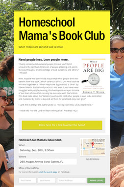 Homeschool Mama's Book Club