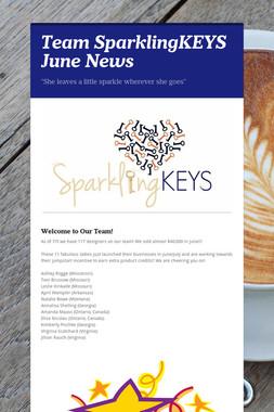 Team SparklingKEYS June News