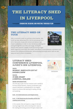 The Literacy Shed in Liverpool
