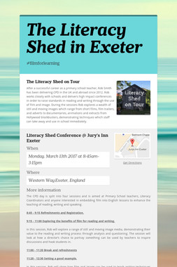 The Literacy Shed in Exeter