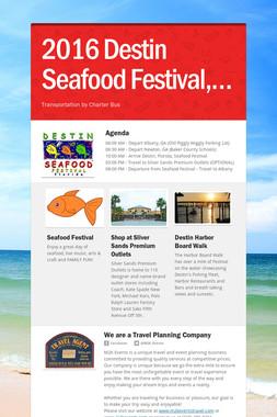 2016 Destin Seafood Festival,…
