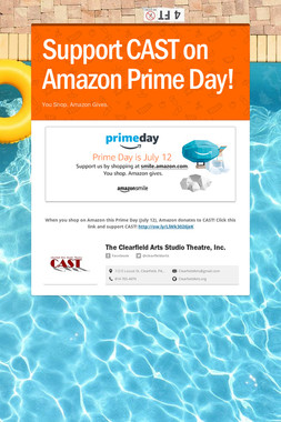 Support CAST on Amazon Prime Day!
