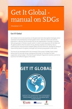 Get It Global - manual on SDGs
