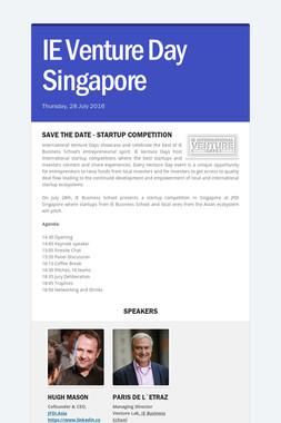 IE Venture Day Singapore