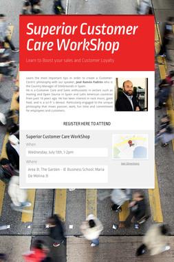 Superior Customer Care WorkShop