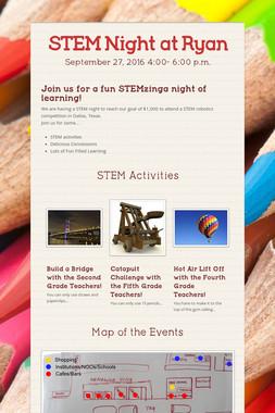 STEM Night at Ryan
