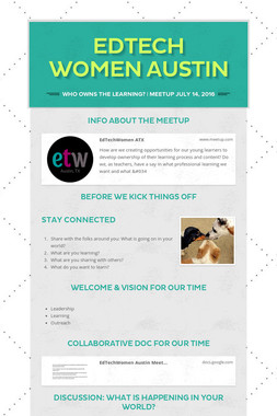 Edtech Women Austin