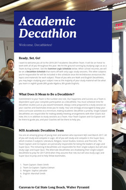 Academic Decathlon