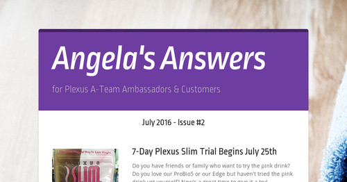 Angelas Answers Smore Newsletters For Business