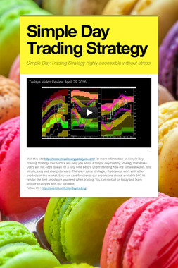 Simple Day Trading Strategy
