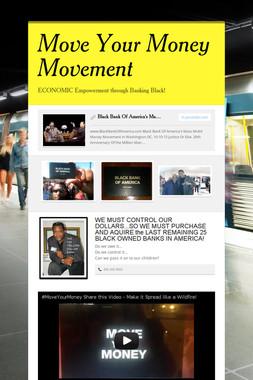 Move Your Money Movement