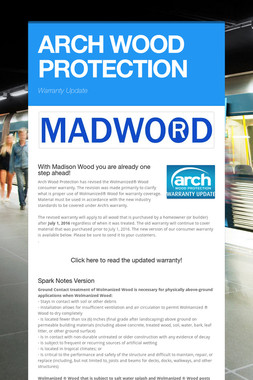 ARCH WOOD PROTECTION