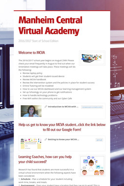 Manheim Central Virtual Academy