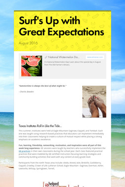 Surf's Up with Great Expectations