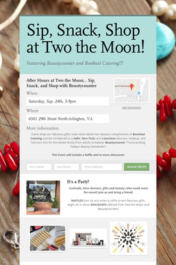 Sip, Snack, Shop at Two the Moon!