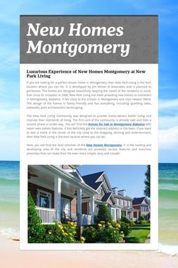 New Homes Montgomery