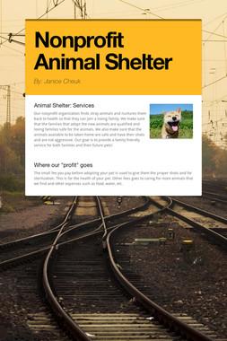 Nonprofit Animal Shelter