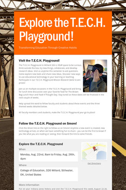 Explore the T.E.C.H. Playground!