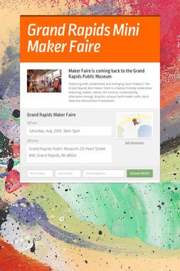 Grand Rapids Mini Maker Faire