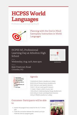 HCPSS World Languages