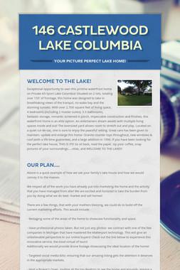 146 Castlewood Lake Columbia