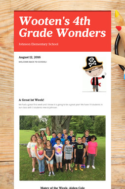 Wooten's 4th Grade Wonders