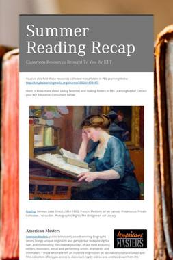 Summer Reading Recap