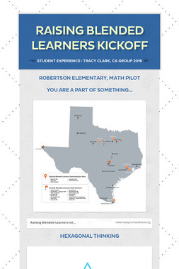 Raising Blended Learners KickOff