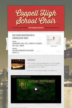 Coppell High School Choir