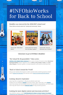 #INFOhioWorks for Back to School