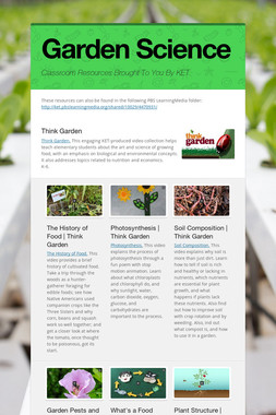 Garden Science
