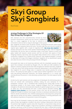 Skyi Group Skyi Songbirds