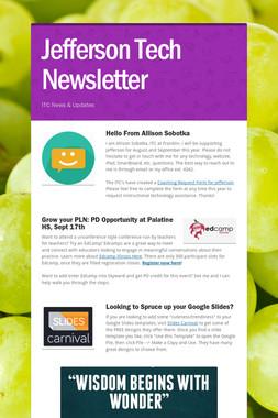 Jefferson Tech Newsletter