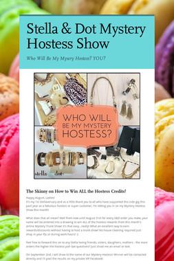 Stella & Dot Mystery Hostess Show
