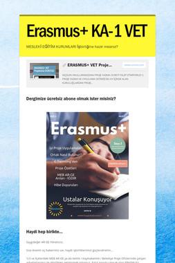 Erasmus+ KA-1 VET