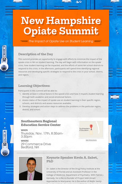 New Hampshire Opiate Summit