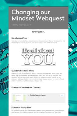 Changing our Mindset Webquest